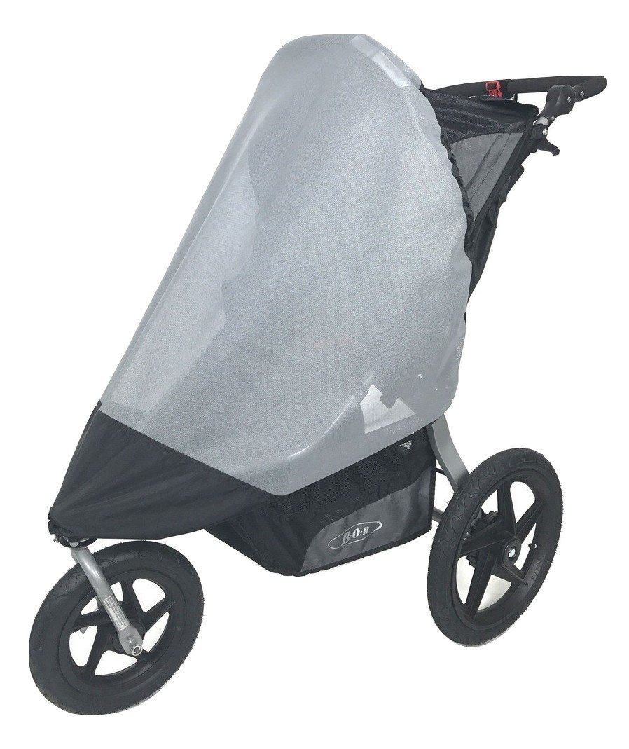 Sashas''See Me See You Series'' Sun Wind and Insect Cover for Bob Revolution Flex Jogging Stroller by Sasha Kiddie Products (Image #1)