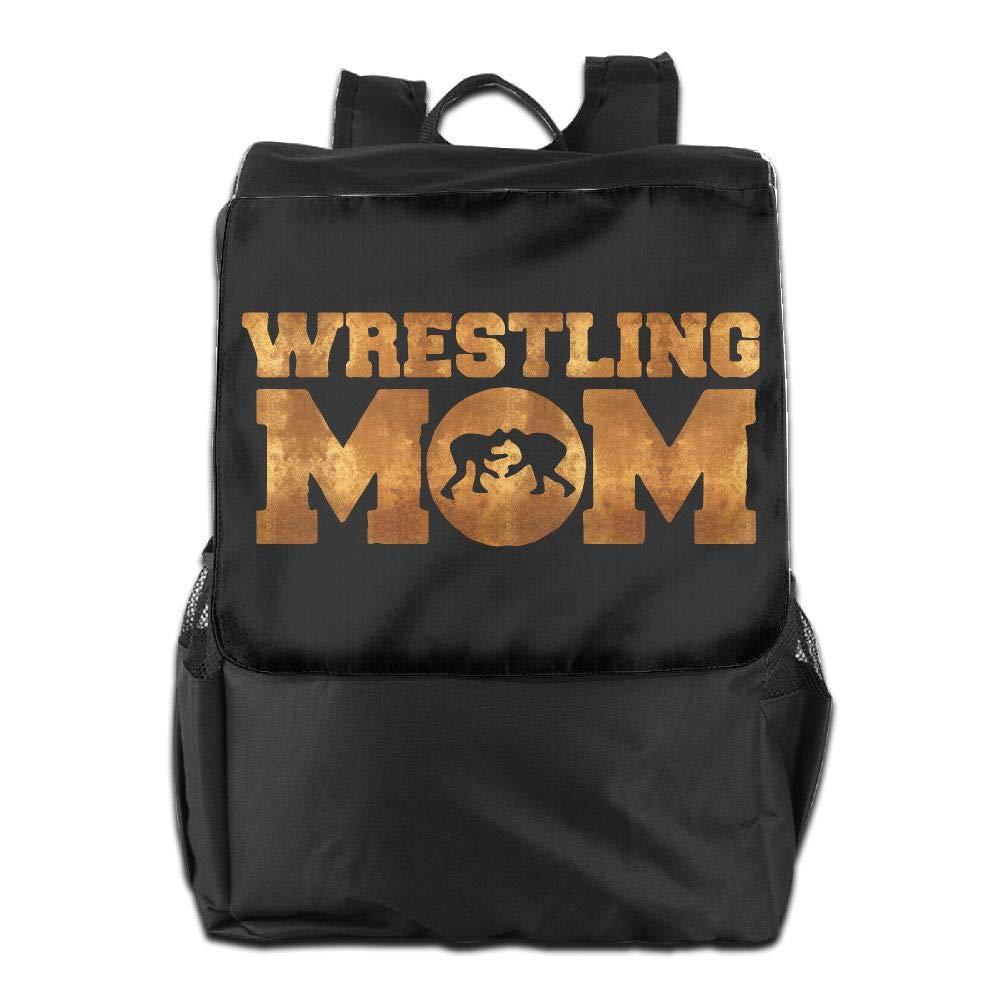 Louise Morrison Wrestling Mom Women Men Laptop Casual Business Travel Backpack College School Bookbag
