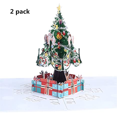 Amazon.com: Homekit Tarjeta de felicitación 3D Pop Up 2 ...