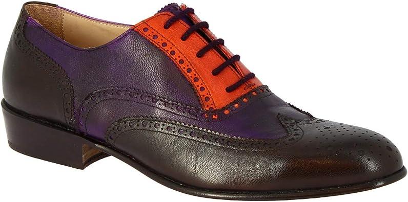 Leonardo Shoes Zapatos Oxford Hechos a Mano Mujer Cuero