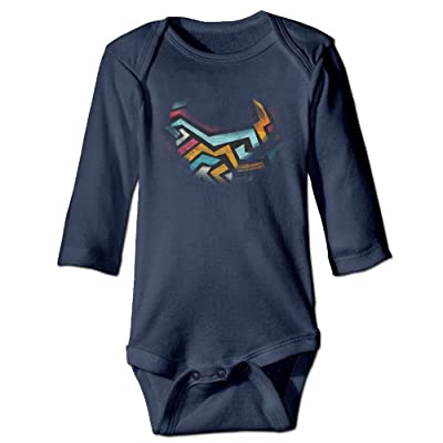 Abstract Tornado Colortone Baby Boys' Clothes Long Sleeve Rompers Cotton Newborn Jumpsuit Toddler Bodysuits