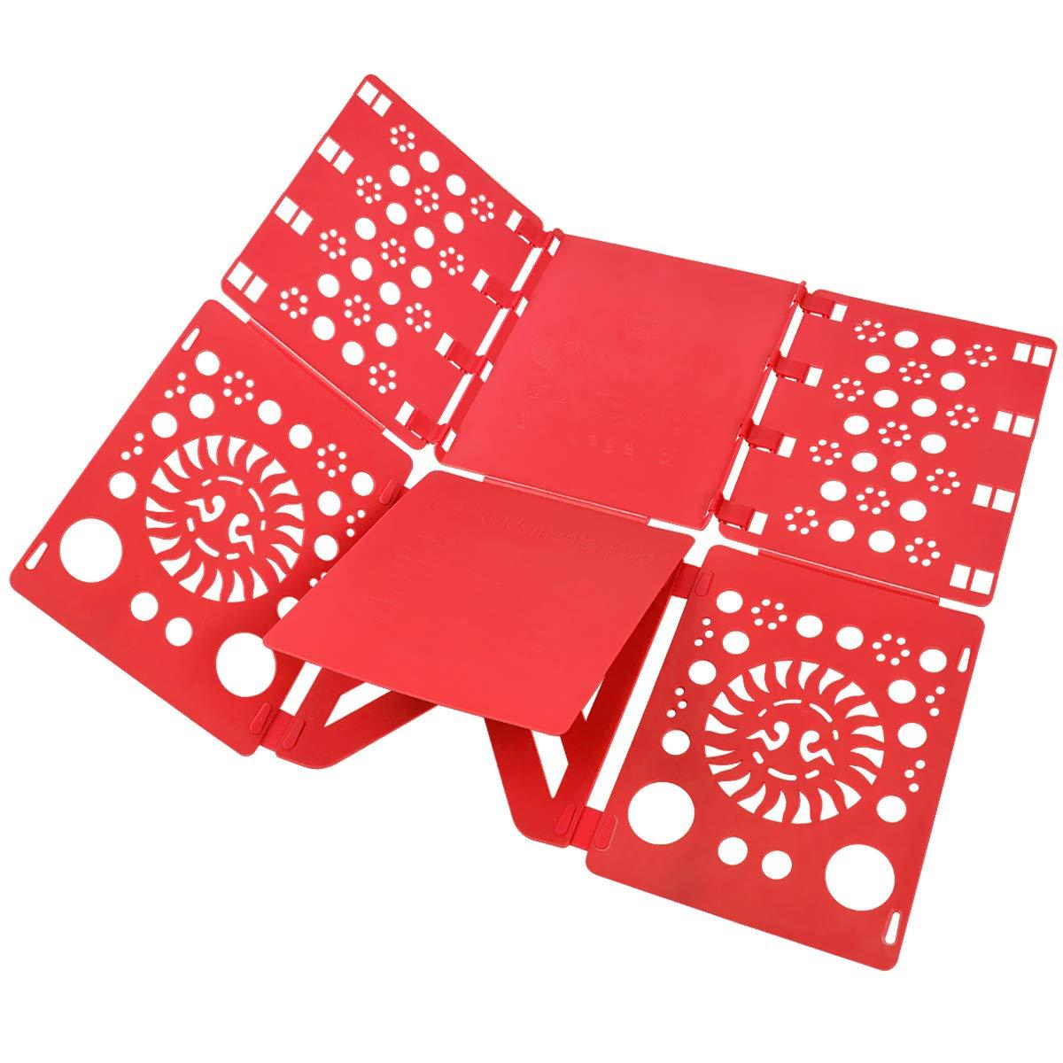 BoxLegend V2 Shirt Folding Board t Shirts Clothes Folder Durable Plastic Laundry folders Folding Boards flipfold