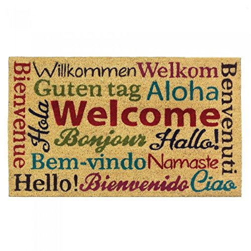 Multi-Lingual Welcome Mat 30