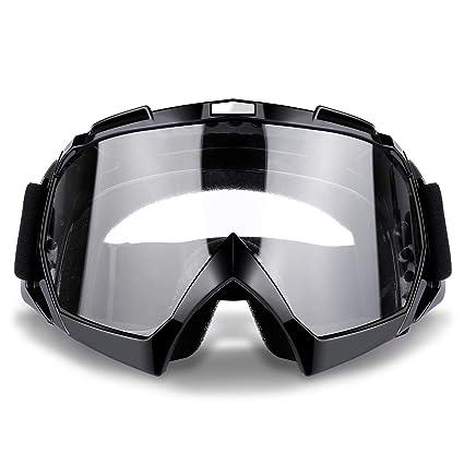 463ad27e752b Amazon.com  Ski Goggles Snowboard Goggles Motorcycle Goggles Anti UV Anti  Fog Windproof Dustproof Motocross Riding Glasses  Automotive