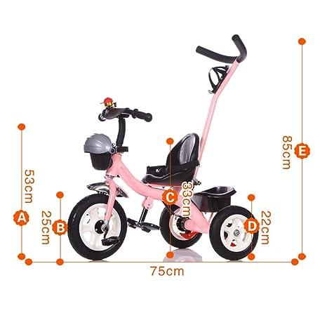 AILI Sillas de Paseo Triciclo para niños, Bicicleta, 1-5 ...