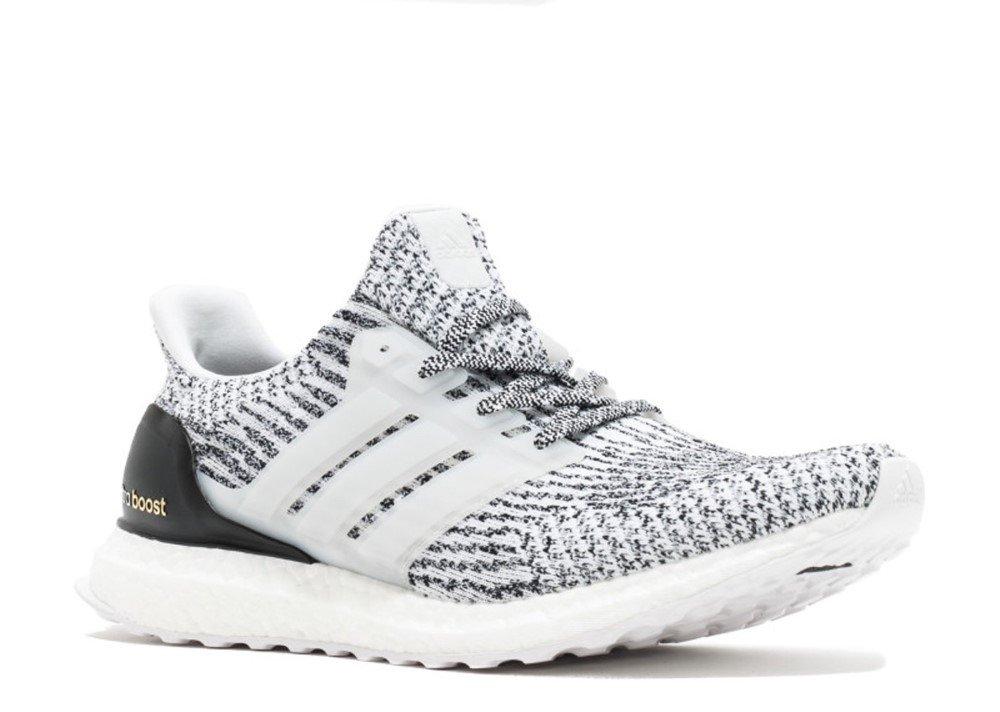 adidas Performance Men's Ultra Boost M Running Shoe B01H643VE4 4.5 B(M) US White-white-core Black