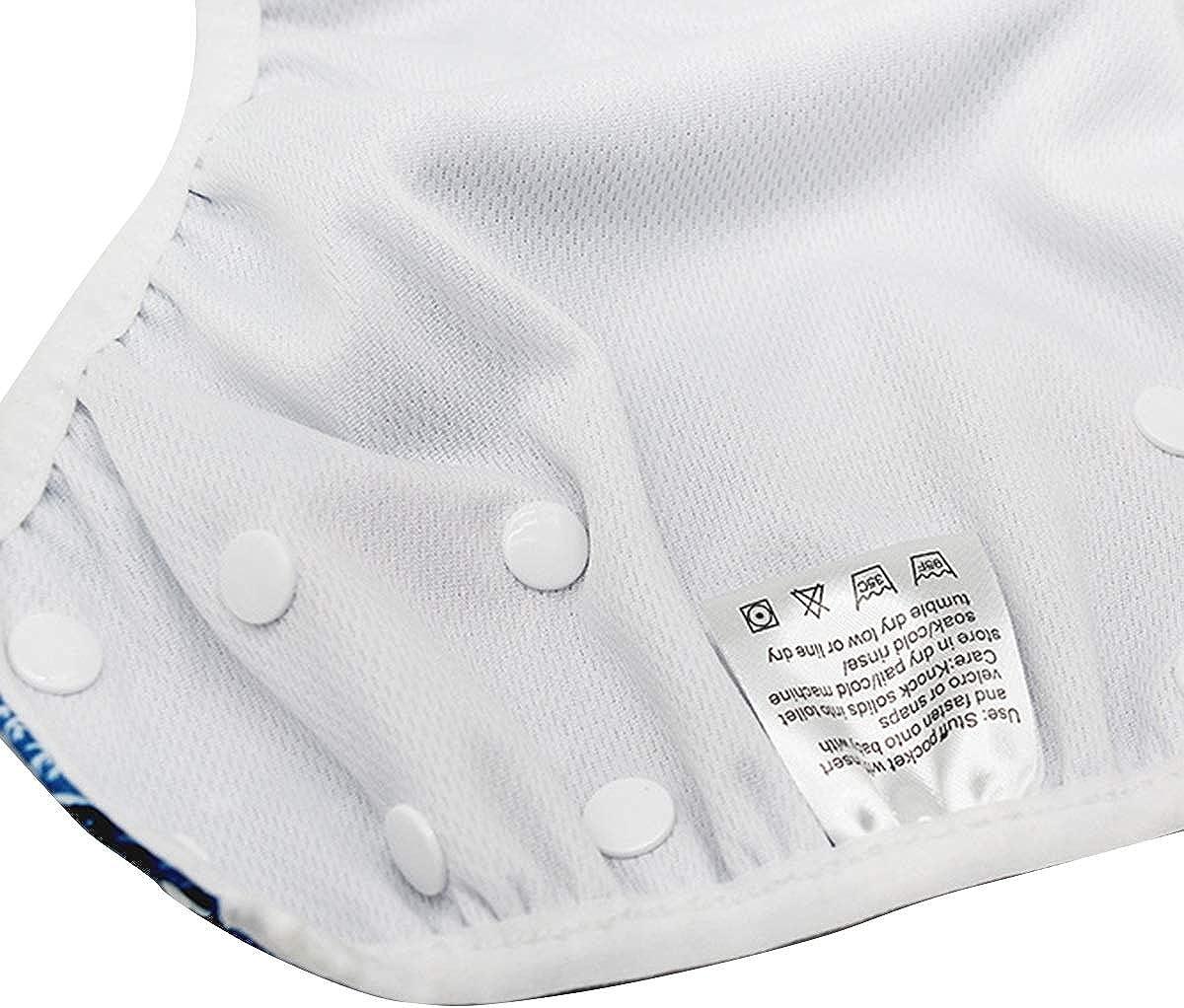 Cadeaux lavables de f/ête de Natation de le/çons de Natation lavables Pendant 0-2 Ans Haokaini Couche r/éutilisable de Bain Couches imperm/éables r/églables de Tissu