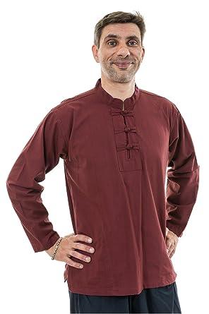 Fantazia Herren Blusen Freizeit-Hemd Gr. Small, Rot