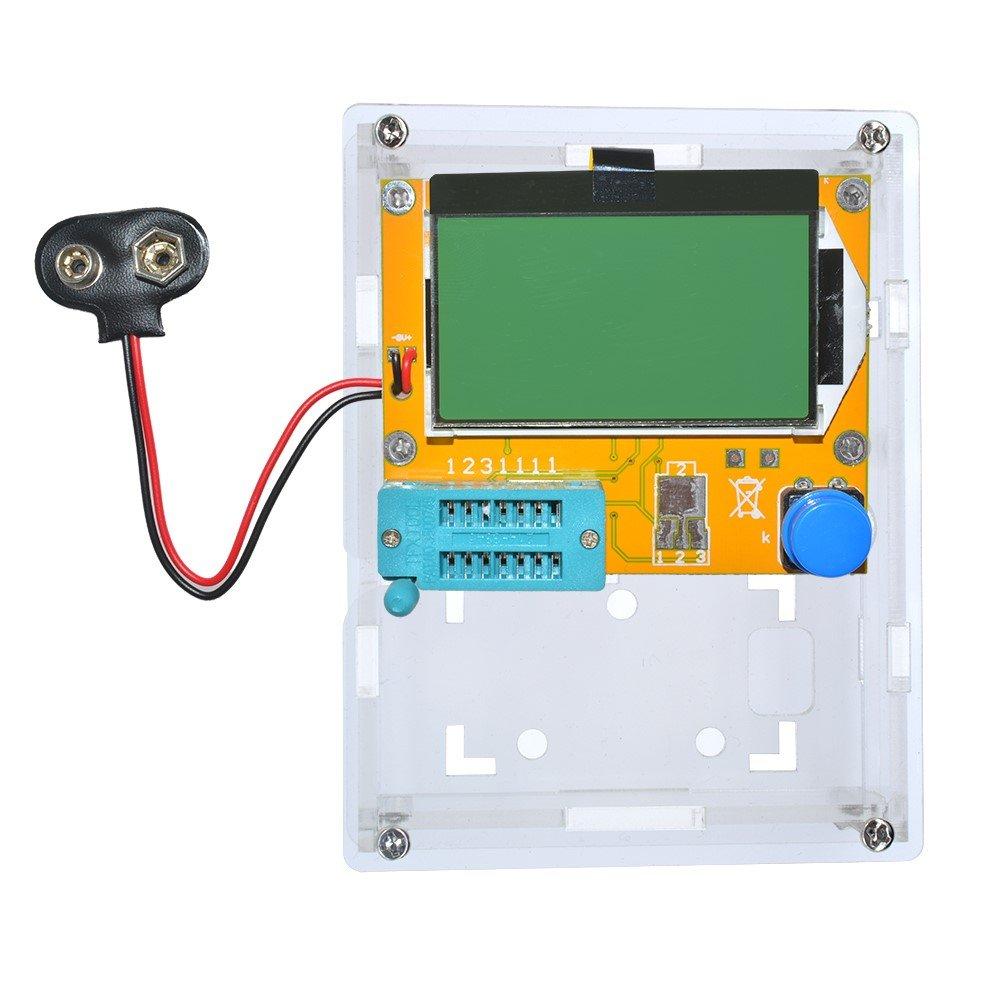 M328 LCD LCR-T4 Transistor Tester Meter Diode Triode ESR Capacitance Inductance