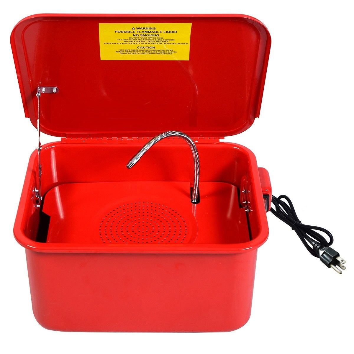 RECIRCULATING PARTS WASHER 3.5 GALLON CAPACITY 15x12.5 WORK AREA SOLVENT CLEANER