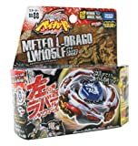 Beyblades #BB88 Japanese Metal Fusion LW105LF Meteo L-Drago Battle Top Starter Set