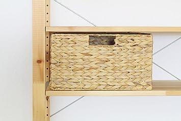 Ikea Kallax Expedit Regal Korb 32 X 32 X 34 Cm Aus Wasserhyazinthe