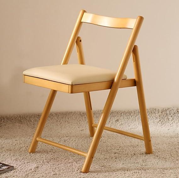 Chair QL sillones Plegables Silla de Comedor Silla de ...