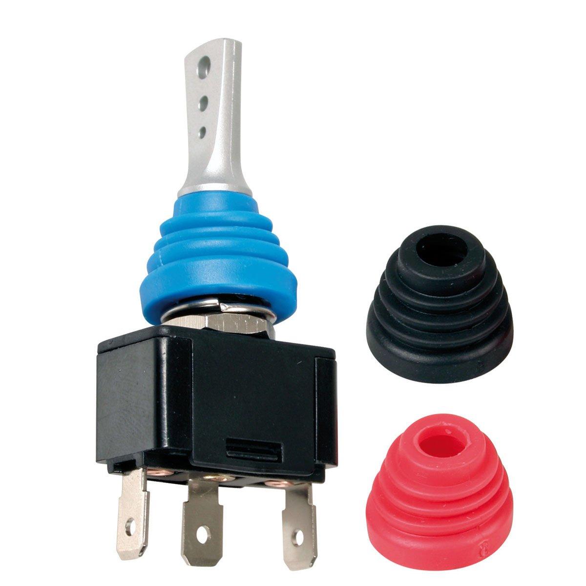 Lampa Interruttore a leva con cuffie intercambiabili, 12-24V, max 20 A LA_45583