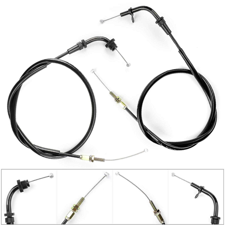 58300-01DB0-000 1 par de cables de acelerador para motocicleta SU-ZU-KI GS500 GS500F 2001-2009 58300-01DA0-000 Artudatech