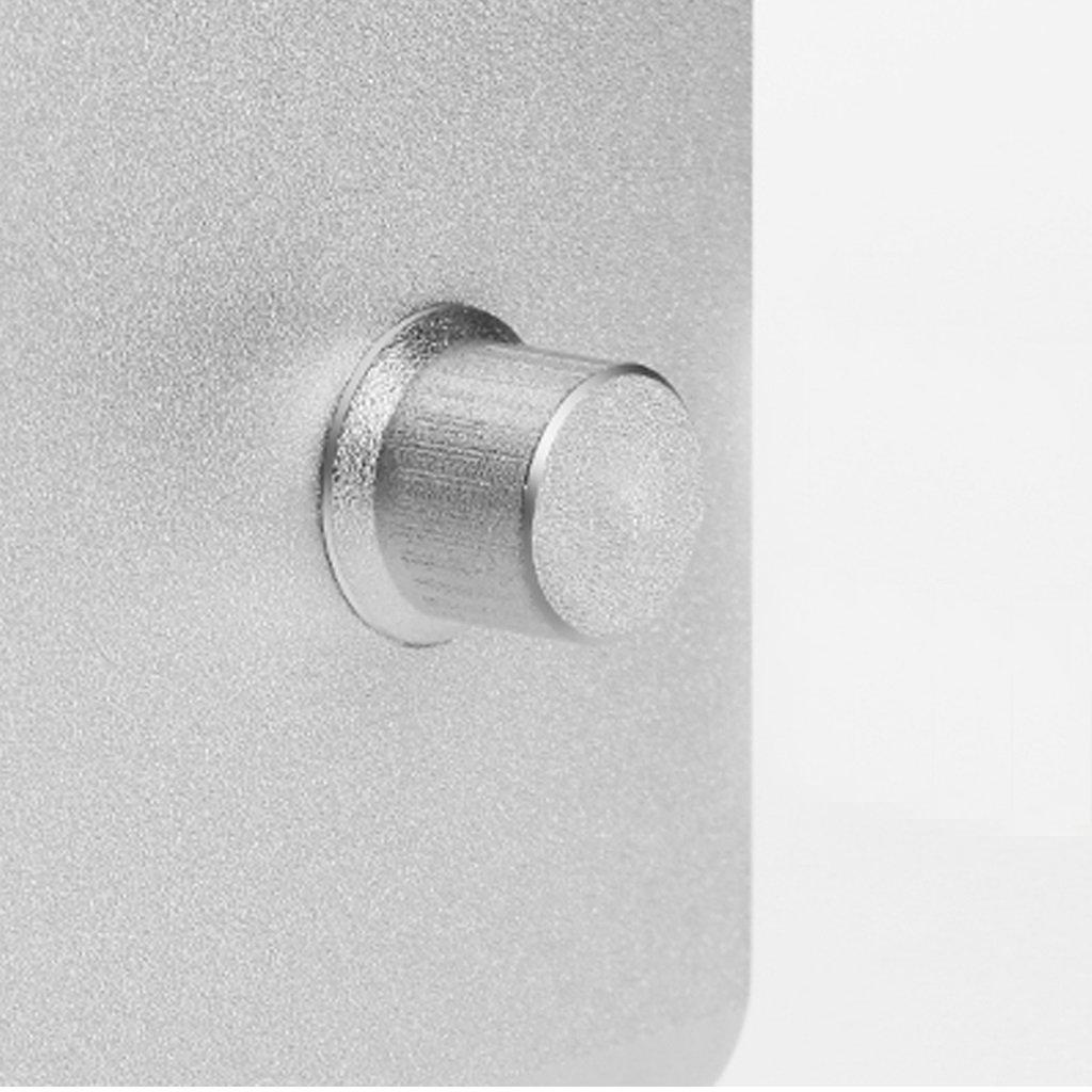 XY Soap dish Desktop Rotary Radiator Computer Base, Aluminum Notebook Desk, Three-Speed Adjustable Rotating Chassis Notebook Desk, 245mm230mm135mm—120mm—105mm by XY Soap dish (Image #9)