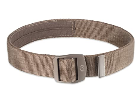 4230769e27aa Amazon.com : Life Venture Adjustable Travel Belt With Hidden Zipped ...