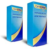 Acne Treatment Differin Gel, 180 Day Supply, Retinoid Treatment for Face with 0.1% Adapalene, Gentle Skin Care for Acne Prone