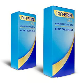 Amazon Com Acne Treatment Differin Gel Acne Spot Treatment For Face W Adapalene 15 Gram 60 Day Supply Pack Of 2 Beauty
