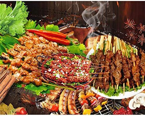 Ensemble D'outils De Barbecue 5Pièces Lot D'ustensiles pour Barbecue, Kit Ustensiles De Barbecue pour Grillades,Kit D'accessoires De Cuisine De en Acier Inoxydable