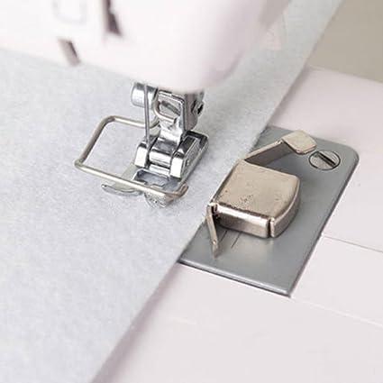 Vinciann Guía costura magnético prensatelas magnético máquina de coser Brother Singer