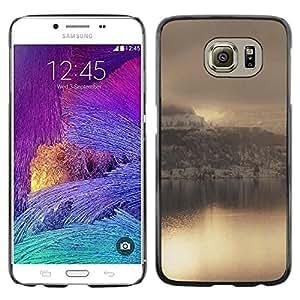 Be Good Phone Accessory // Dura Cáscara cubierta Protectora Caso Carcasa Funda de Protección para Samsung Galaxy S6 SM-G920 // Nature Beautiful Forrest Green 181