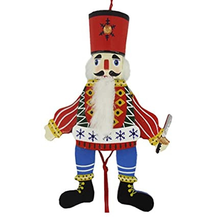 amazon com traditional russian dancing wood pull puppet home kitchen