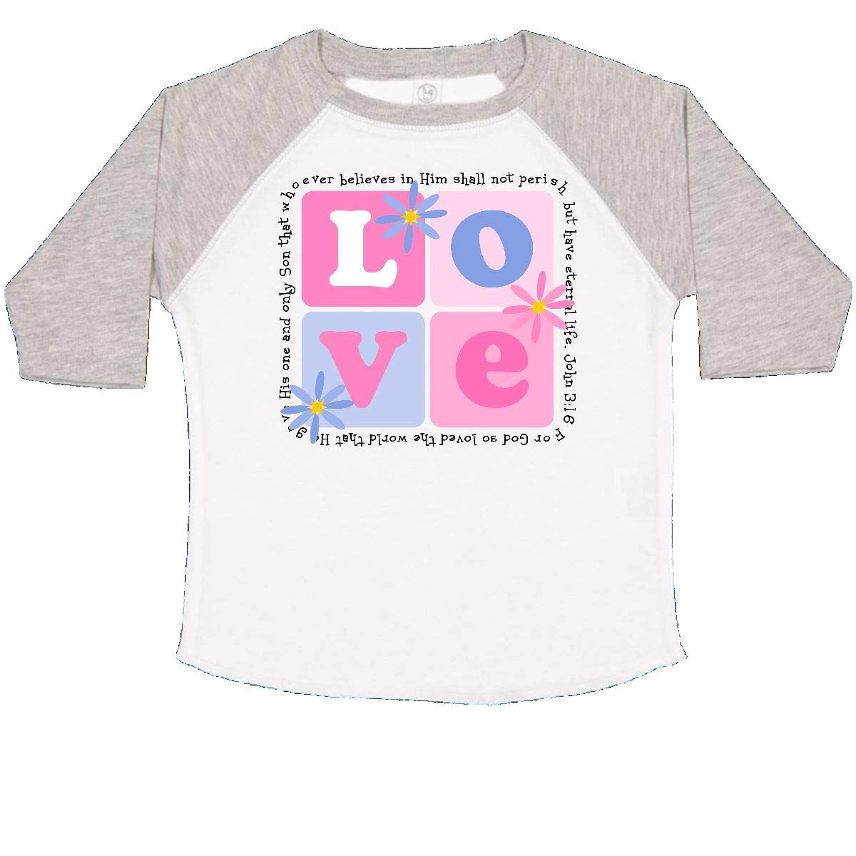 inktastic John 3:16 Toddler T-Shirt