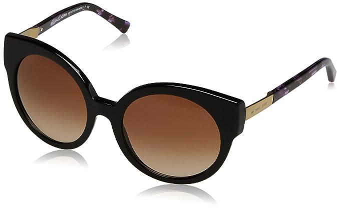 bcc06611c4 Michael Kors ADELAIDE I MK2019 Sunglasses 315313-55 - Black Purple  Tort gold MK2019