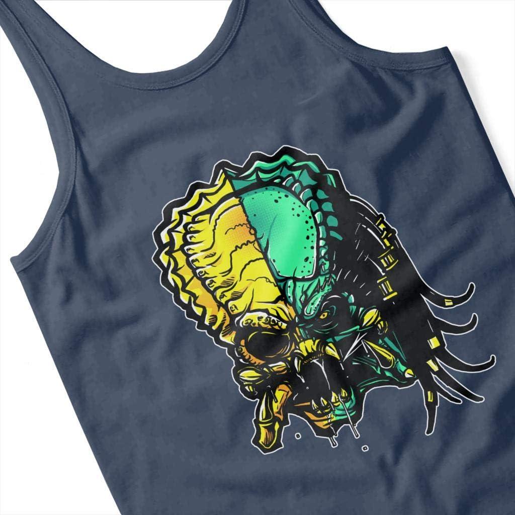 Cloud City 7 Cranium Alien Vs Predator Mens Vest