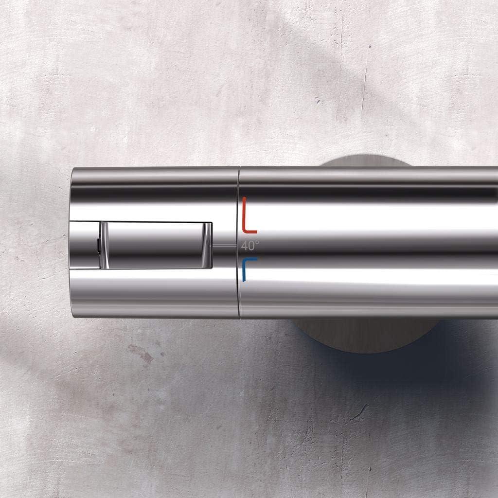 Argento Ideal Standard A4627AA CERATHERM 200 New TERMOSTATICO Esterno Doccia Cromato