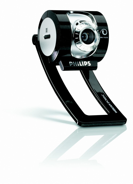 Philips SPC900NC/27 cámara web 0,3 MP 640 x 480 Pixeles USB 1.1 Negro, Plata - Webcam (0,3 MP, 640 x 480 Pixeles, 90 pps, 8x, 24 bit, 1 lx): Amazon.es: ...