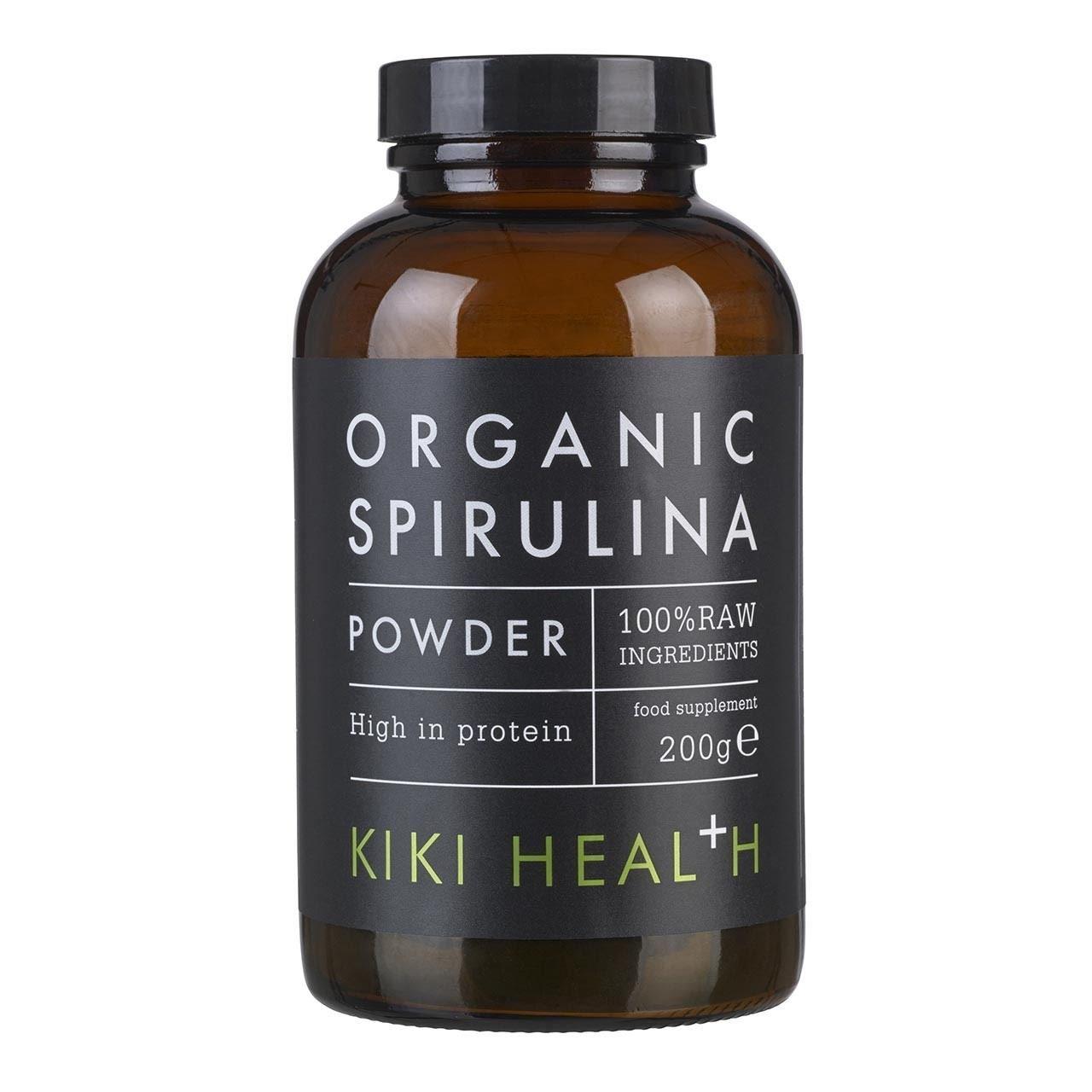 (3 PACK) - Kiki Organic Spirulina Powder | 200g | 3 PACK - SUPER SAVER - SAVE MONEY