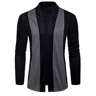 giacca maglia collo lungo nero