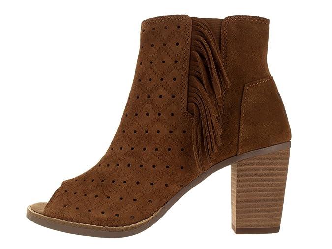 ef200d4055a Amazon.com  TOMS Women s Majorca Peep Toe Mid Calf Boot  Shoes