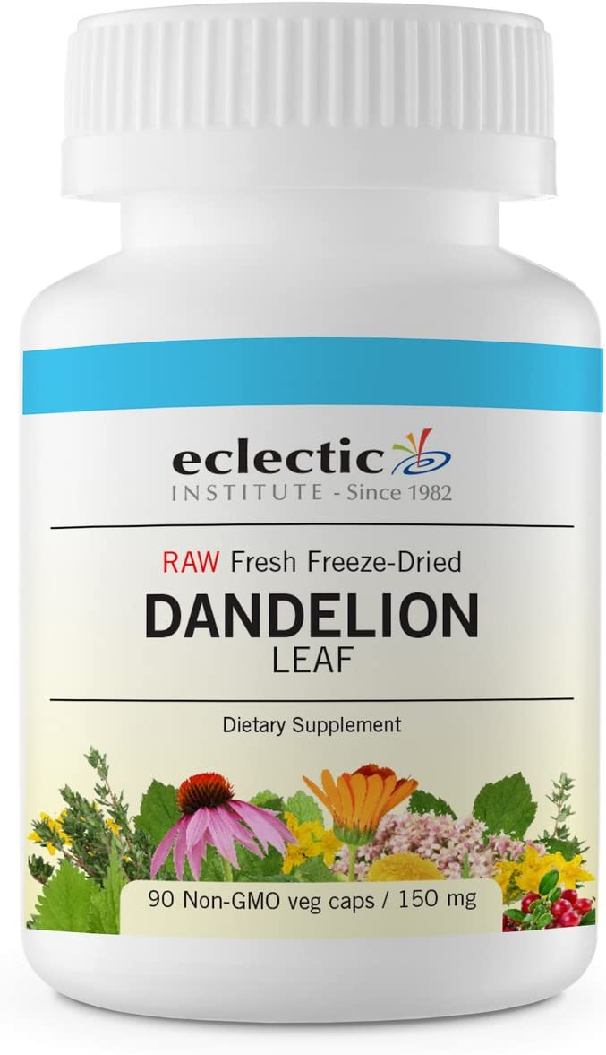 Eclectic Dandelion Leaf Cog FDV, Blue, 90 Count