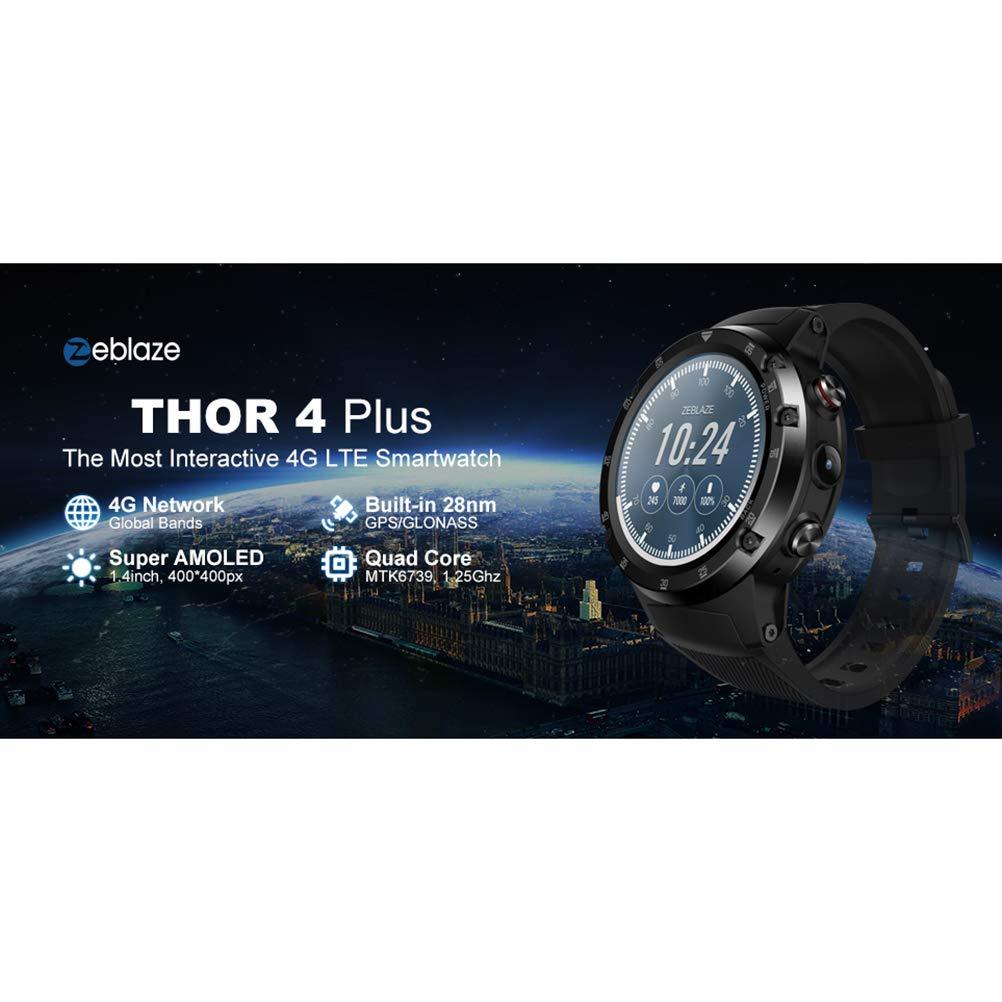 Zeblaze Thor 4 Plus - Smartwatch de 1,4 Pulgadas, con GPS, Color ...