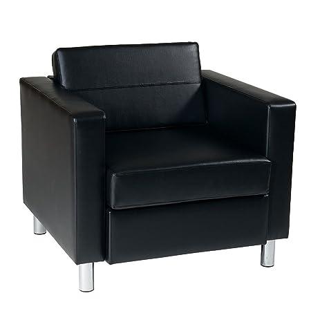 Captivating Pacific Vinyl Club Chair Dimensions: 32u0026quot;W X 31u0026quot;D X 29.5u0026quot;