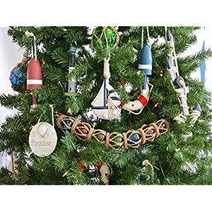 612EQGhhEuL._SS300_ 500+ Beach Christmas Ornaments and Nautical Christmas Ornaments