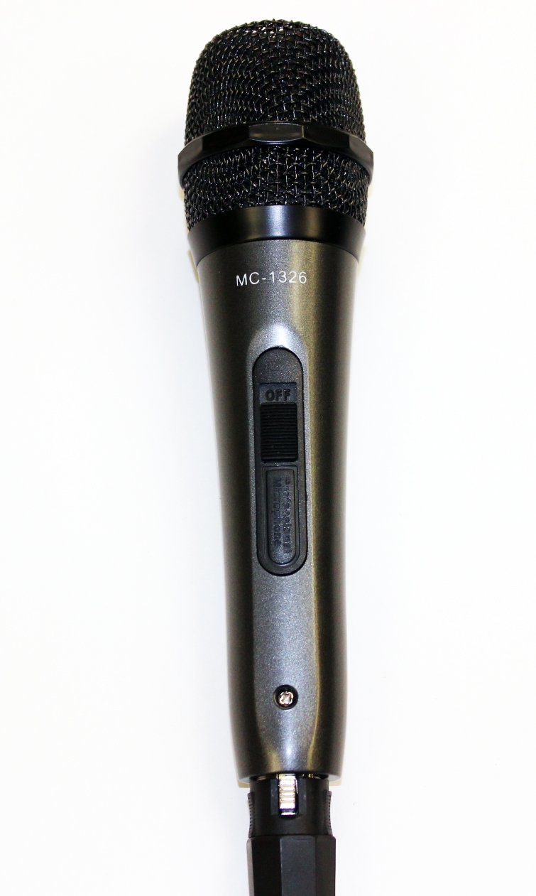 mediasonic professional unidirectional dynamic microphone with 10ft cord and on off switch. Black Bedroom Furniture Sets. Home Design Ideas