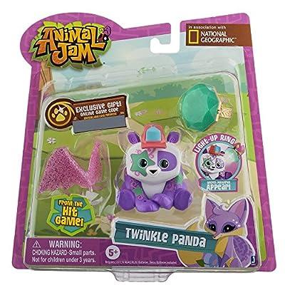 Animal Jam Best Dressed Twinkle Panda Action Figure: Toys & Games