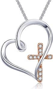 Giveaway: Klurent Heart Pendant Necklace