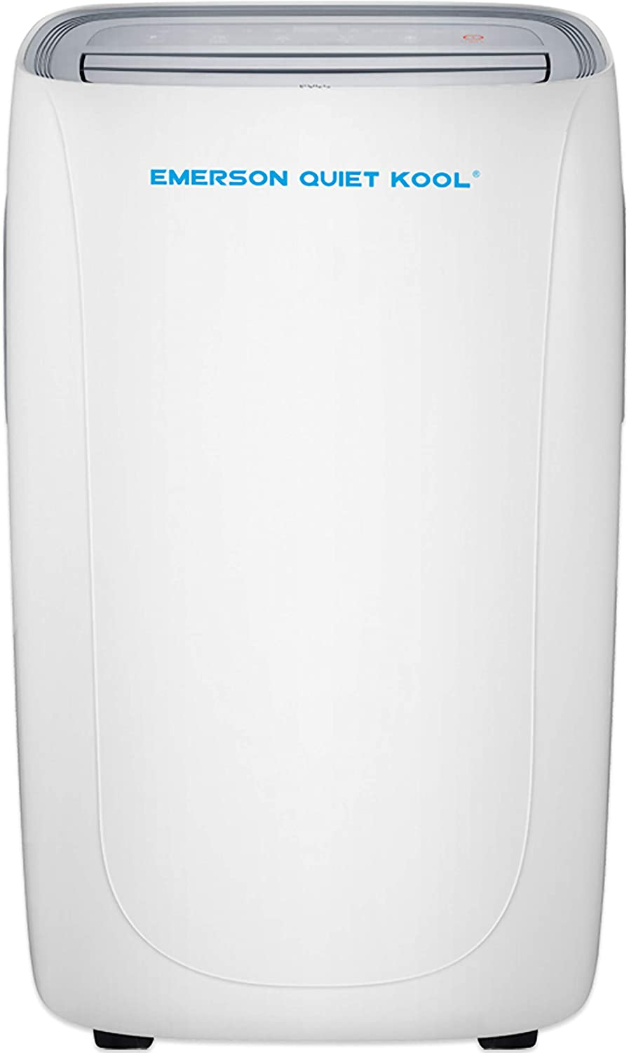 Emerson Quiet Kool SMART Wi-Fi and Voice 400-Sq. Ft Portable Air Conditioner with Remote Control for Rooms, White