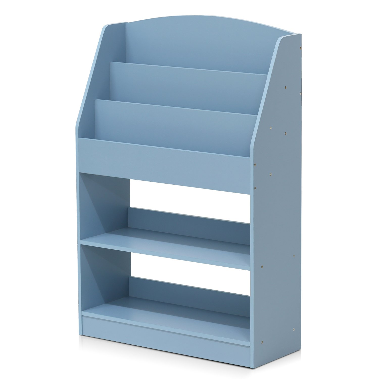 Furinno FR16118LB KidKanac Bookshelf, Light Blue by Furinno (Image #2)