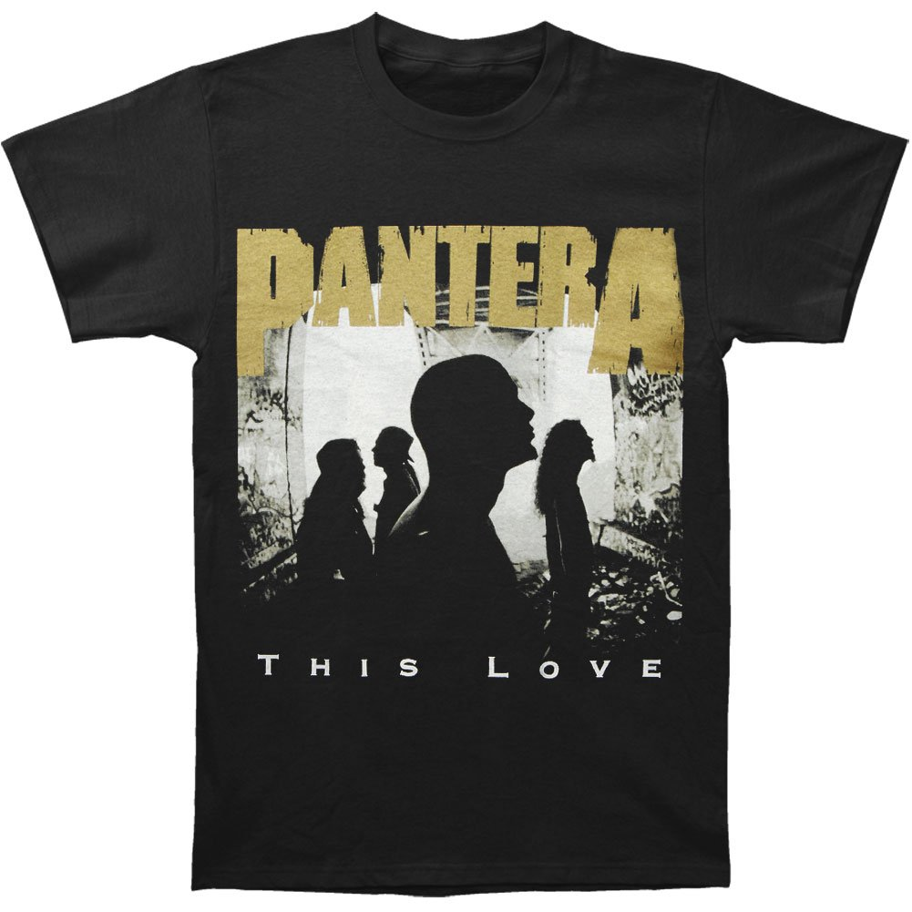 Pantera Men's This Love T-shirt Large Black by Pantera (Image #1)