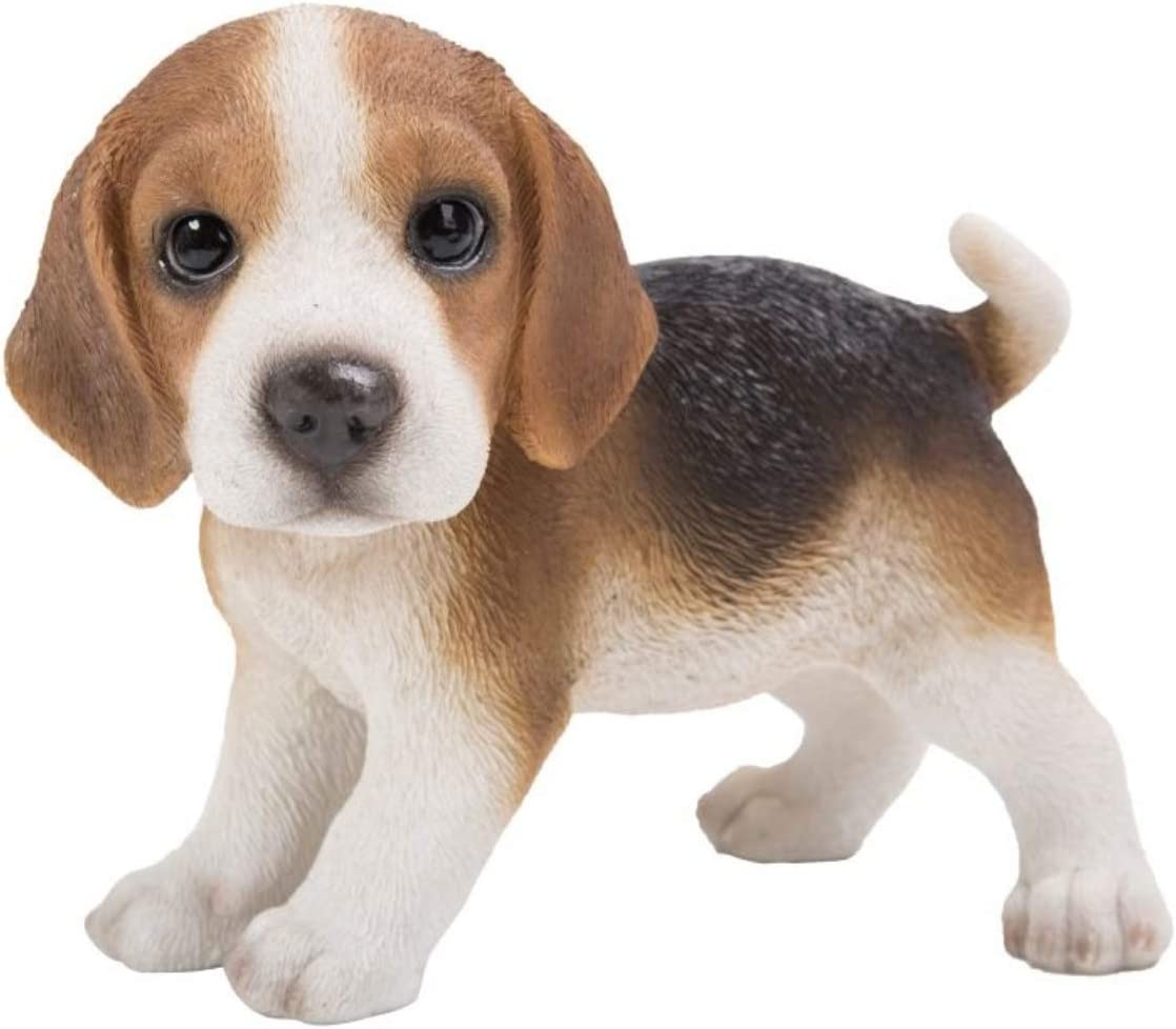 Pacific Giftware Beagle Puppy Dog Standing Figurine, 5.7 Inch