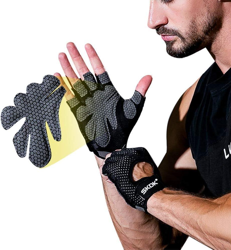 Selighting Gants de Fitness Homme Gants Sport Gants Musculation pour Levage de Poids Fitness Gymnastique Crossfit V/élo