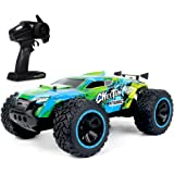 KY-2011A 1/14 Big Foot RC Crawler RC Off-road Car 2.4G 2WD RC Truck High Speed Lightweight RC Car Toys for Kids Adults…