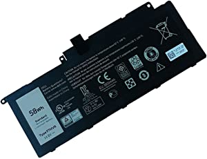 Ding F7HVR (14.8V 58WH) Replacement Battery for Dell Inspiron 15 7537 / Insprion 17 7737