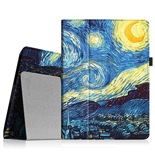 Fintie iPad 2/3/4 Case - Slim Fit Folio Stand Case Smart Protective Cover Auto Sleep/Wake Feature for Apple iPad 2, iPad 3 & iPad 4th Generation with Retina Display - Starry Night